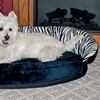 Plush Bolster Sleepers Dog Beds