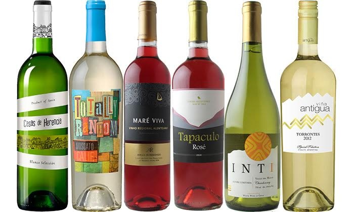 Splash Wines: Package of Four White Wines and Two Rosés from Splash Wines ($104.78 Value)