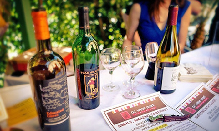 OC Wine Mart & Tasting Bar - Irvine Business Complex: $15 for $30 Worth of Wine Tastings for Two at OC Wine Mart & Tasting Bar