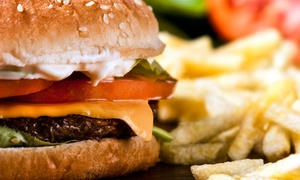 Play Sports Bar: Bar Food and Drinks at Play Sports Bar (Up to 52% Off). Two Options Available.