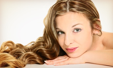 Haircut Package with Optional Partial or Full Highlights with Holly Stovall at Little Flower Day Spa (Up to 54% Off)