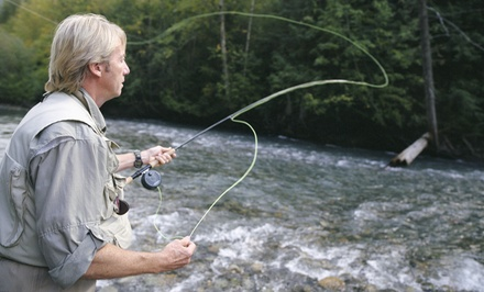 $192 for a Half-Day Guided Fly-Fishing Trip for Two on a Private Trout Stream from New River Fly Fishing ($350 Value)