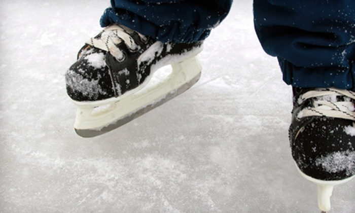 Capital Clubhouse - Waldorf: Ice Skating with Skate Rentals for Two or Four at Capital Clubhouse (50% Off)
