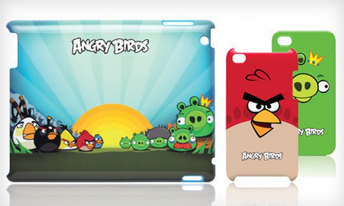 Navarre Corporation: Gear4 Angry Birds iPhone, iPod Touch, and iPad Cases (Up to 76% Off). Multiple Styles Available.