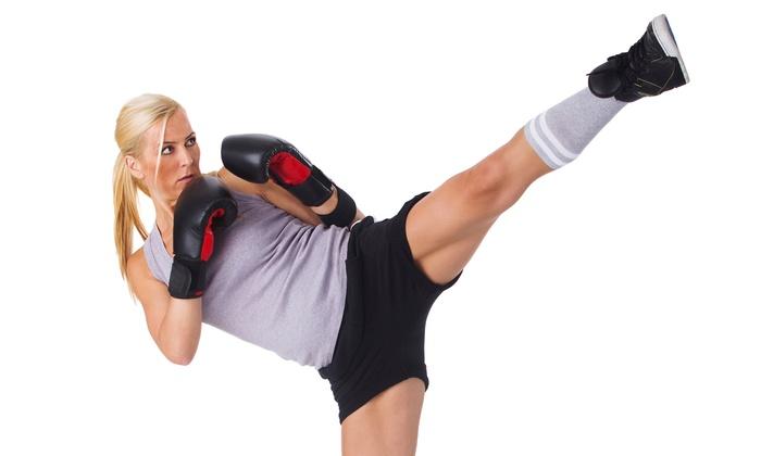 Kickboxing Dynamickickboxing - Davie: Five or Ten Kickboxing Classes at Kickboxing Dynamickickboxing (Up to 86% Off)