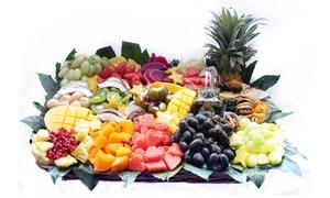 פרי היופי: סלסלות ומגשי הפירות האקזוטיים של פרי היופי: רק 99 ₪ לגרופון בשווי 200 ₪ למימוש על הקטלוג