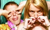 Injoy Photography: Three- or Five-Hour Photo-Booth Rental Package from Media Productions (Up to 50% Off)