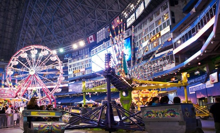 Spring Fling Indoor Carnival on Sat., March 10 or Sun., March 11 from 10AM-6PM: 1 General-Admission Ticket - Rogers Centre in Toronto
