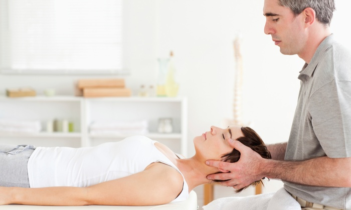 Align Health & Wellness - Brentwood: Chiropractic Exam with X-rays or Nerve Scan, Muscle Massage, and Adjustments at Align Health & Wellness (91% Off)