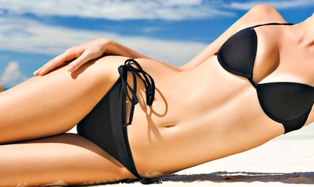 One or Three Organic Airbrush Spray Tans at Cavi Medspa (Up to 52% Off)