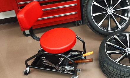 Mechanic Seat With Back Support Groupon Goods