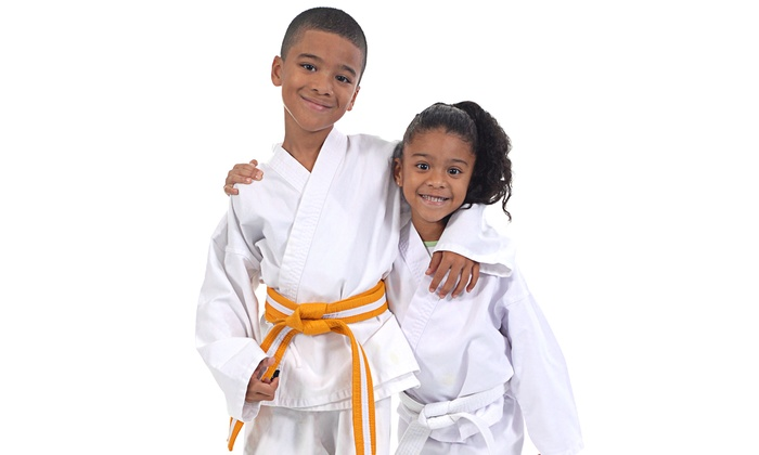 JK Lee Black Belt Academy - Multiple Locations: One Month of Martial Arts Classes or Kids Martial Arts Party Package at JK Lee Black Belt Academy (Up to 80% Off)