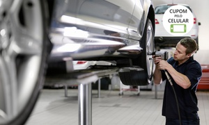 Santo Antônio Auto Peças: Santo Antônio Auto Peças – Prado: rodízio de pneus, check-up e limpeza de bicos + até 5 serviços