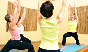 Health First Wellness Center: 10 or 15 Yoga, Barre and Fitness Classes at Health First Wellness Center (80% Off)