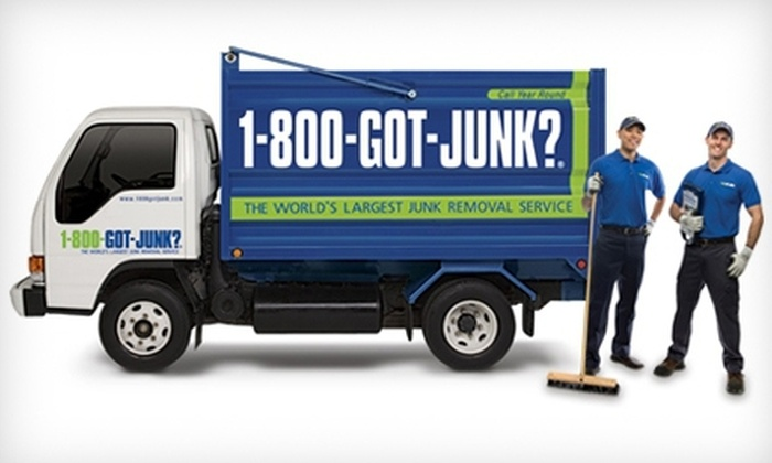1-800-GOT-JUNK? - Mason: $79 for 1/6 of a Truckload of Junk Removal from 1-800-GOT-JUNK? ($189 Value)