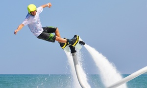 SoFlo Flyboarding LLC: 25-Minute Flyboarding Session for One or Two from SoFlo Flyboarding (Up to 29% Off)