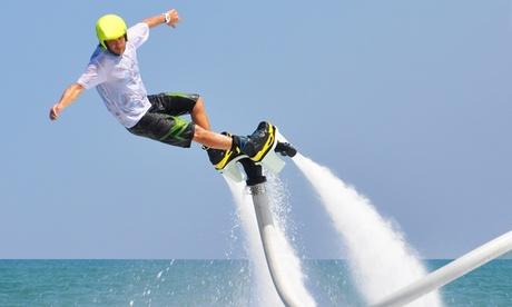 Vuelo en flyboard para una persona desde 29,90€ o para dos personas por 54,90€ Oferta en Groupon