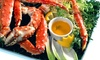 Original Waterfront Crab Shack - Seabreeze: Seafood and Drinks at Original Waterfront Crab Shack (40% Off). Two Options Available.