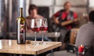 Bonacquisti Wine Company: Wine Tasting for Two or Four, Plus One Full Glass of Wine at Bonacquisti Wine Company (Up to 58% Off)