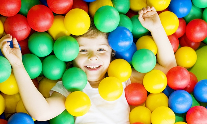 Time 4 Tikes - Bradenton: $34 for One Month of Open Play for One Child at Time 4 Tikes ($60 Value)