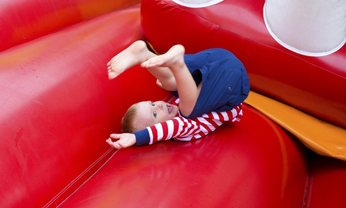 Bouncetown - Bouncetown: Up to 54% Off Inflatable Playground Passes at Bouncetown