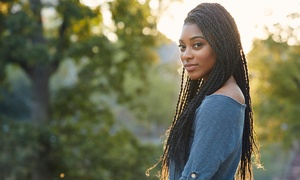 Braids By Jessica: Natural or Extension Braiding Services at Braids By Jessica (Up to 50% Off)