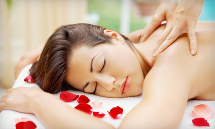 Abella Salon and Spa - Centennial: 60-Minute Massage, 60-Minute Custom Facial, or Both at Abella Salon and Spa (Up to 57% Off)