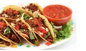 Lupita Restaurante Mexicano: Cocina mexicana para 2 con margarita, platos degustación, postre y bebida desde 22,95 € en Lupita Restaurante Mexicano
