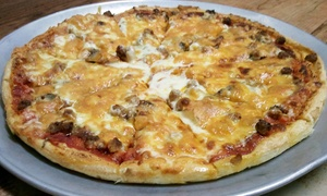 Athens Pizza & Pasta: Pizza, Pasta, and Grinders at Athens Pizza & Pasta (50% Off). Two Options Available.