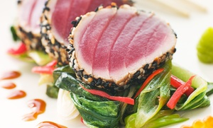 Wasabi Sushi: Sushi and Japanese Cuisine for Two or Four at Wasabi Sushi (50% Off)