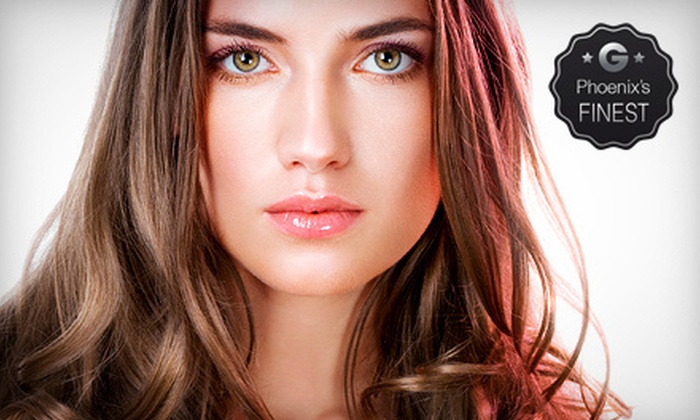 Bravo Salon & Day Spa - Scottsdale: Keratin Conditioning Treatment with Haircut and Blow-Dry or $25 for $50 Worth of Salon Services at Bravo Salon & Day Spa
