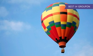 Boise Hot Air Company: Hot-Air-Balloon Ride and a Sparkling Beverage for One, Two, Four, or Six from Boise Hot Air Company (51% Off)