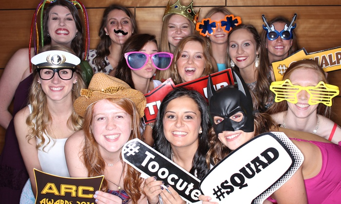 Saycheezebooth - Chicago: Two or Three Hours of Photo-Booth-Rental Services from Saycheezebooth (Up to 58% Off)