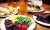 Sports, Spirits, and Steaks - North Reading: American Pub Cuisine at Sports, Spirits & Steaks (Up to 60% Off). Three Options Available.