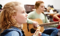 Five or Ten Group Music Lessons at The North London Music Academy (Up to 60% Off)