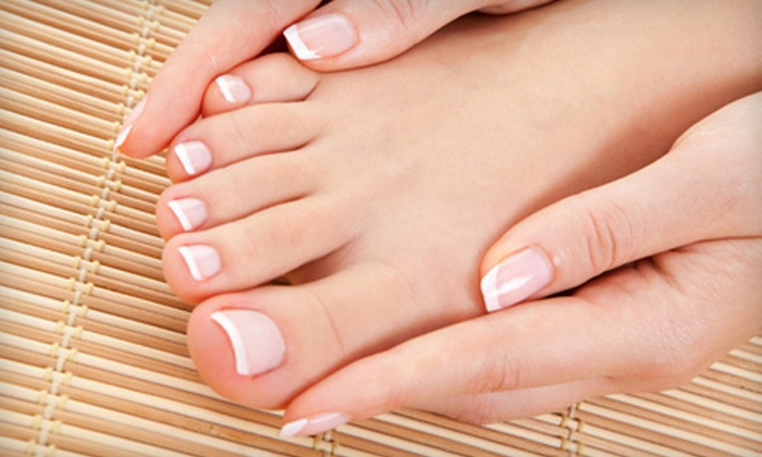 Yolanda at D'Andrea Salon  - Reed: Regular Mani-Pedi or Shellac Gel Nail Treatment for Hands and Feet at D'Andrea Salon in Sparks (Up to 55% Off)