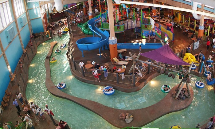 CoCo Key Water Resort - Rockford: $39 for a Full-Day Water-Park Visit for Four at CoCo Key Water Resort ($80 Value)