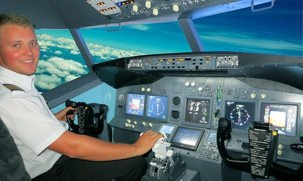 Jet Flight Simulator Experience 30 $69 or 60 Minutes $99 at Jet Flight Simulator Adelaide Up to $169 Value