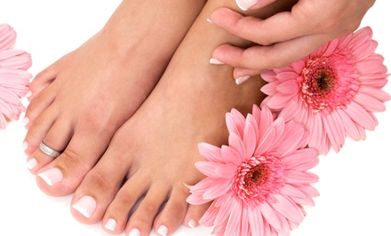 Spa Package for One or Two with Mani-Pedi, Facial, and 60-Minute Massage at Halo Salon Spa (Up to 51% Off)