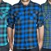 Straightfaded Men's Plaid Flannel Shirts