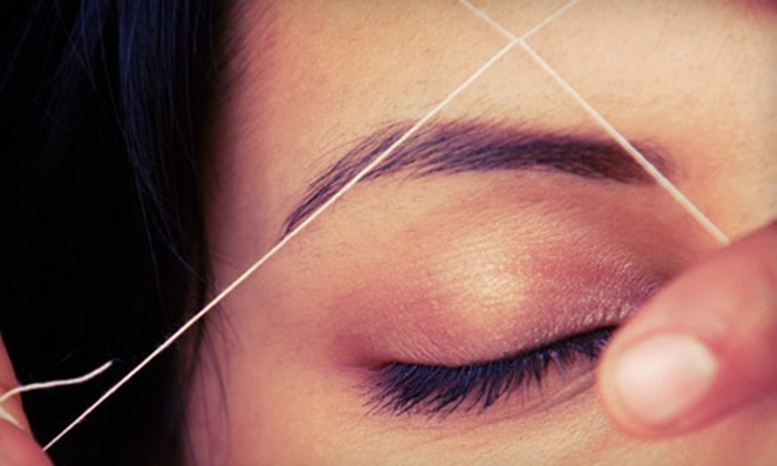 Just Stringz Tucson - Multiple Locations: Eyebrow Threading or 60-Minute Basic Beau Belle Facial at Just Stringz (Up to 52% Off)