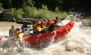 Lewis & Clark River Expeditions: Whitewater Rafting for 2 or 4 or Scenic Float Trip for 4 at Lewis & Clark River Expeditions (Up to 43% Off)