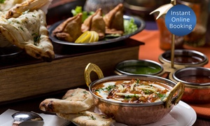 Bawarchi Khana: $30 or $60 to Spend on Food, or a Three-Course Dinner for Two ($29) or Four ($55) at Bawarchi Khana (Up to $120 Value)