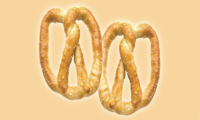 Pretzelmaker  - Multiple Locations: $12 for Four Groupons, Each Good for Two Pretzels at Pretzelmaker (Up to $24.72 Total Value)