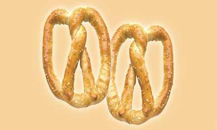 $12 for Four Groupons, Each Good for Two Pretzels at Pretzelmaker (Up to $24.72 Total Value)