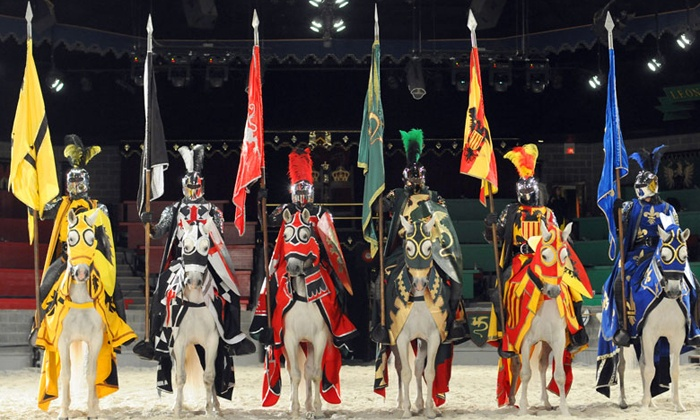 Medieval Times Dinner & Tournament - Medieval Times : Knight Tournament and Feast for an Adult or Child with Optional VIP Package at Medieval Times (Up to 45% Off)
