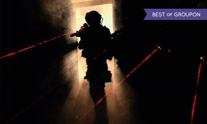iCombat Tactical Laser Tag: 90-Minute Laser-Tag Session for 2, 4, 6, 8, or 12 at iCombat Tactical Laser Tag (Up to 54% Off)