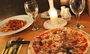 Esca Italian Restaurant /chisholm twenty seven: Pizza, Pasta or Risotto Meal With Wine For Two or Four from £11 at Esca (Up to 57% Off)