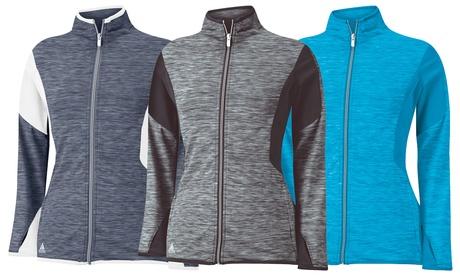 Adidas Women's Full-Zip Mixed Media Jacket bb6cecb6-4d35-11e7-97ae-00259069d7cc