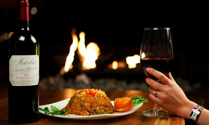 Khazana - Downtown Edmonton: C$17 for C$30 Worth of Indian Dinner and Drinks at Khazana